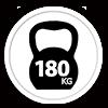 Leistina 180 kg apkrova vienai vietai